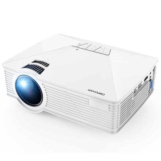 Mini Projector, DBPOWER GP15 Projector with 50,000-hour LED Life