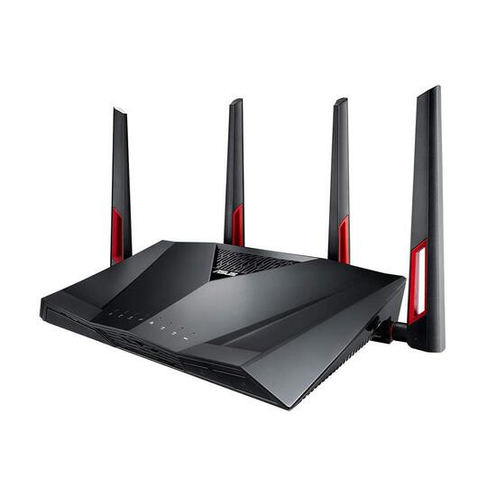 ASUS Dual-Band Gigabit WiFi Gaming Router (AC3100),Black