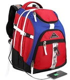 Laptop Backpack 15.6-Inch Business Travel Computer Bag by Ramhorn (red)