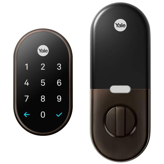 Nest x Yale Lock with Nest Connect - Smart Lock - Bronze