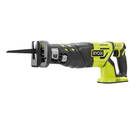 Ryobi 18-Volt One+ Brushless Reciprocating Saw With Battery