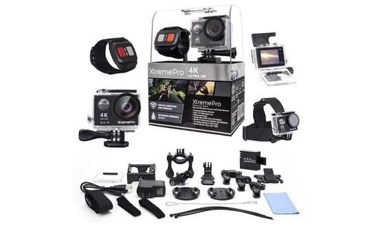 XtremePro 4K WiFi Ultra HD Sport Camera
