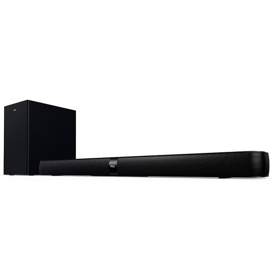 """TCL Alto 7+ 2.1 Channel Home Theater Sound Bar with Wireless Subwoofer - 36"""", Black"""