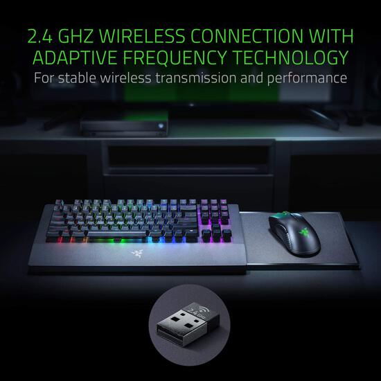 Razer Turret Wireless Mechanical Gaming Keyboard & Mouse Combo for PC & Xbox One
