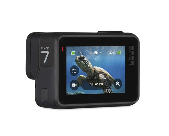 GoPro HERO7 Black Waterproof Digital Action Camera with Touch Screen