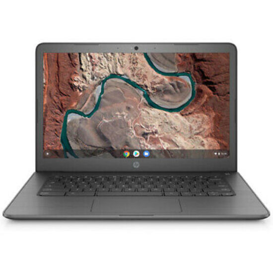 HP Chomebook 14'' Laptop 2.2Ghz 4GB 32GB Chome OS - Charkboard Gray