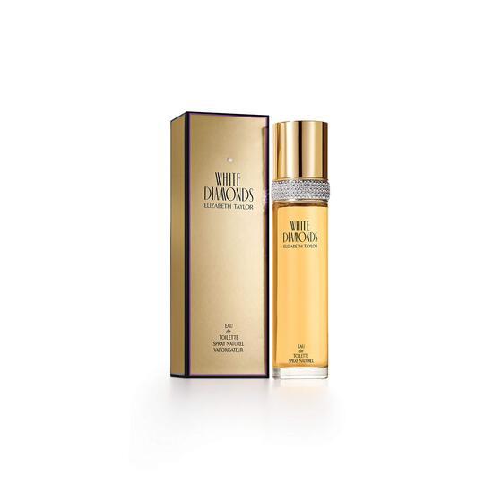 Elizabeth Taylor White Diamonds, Perfume for Women, Daytime Wear Scent, 3.3 oz