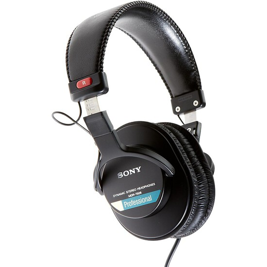 Sony MDR-7506 Professional Stereo Headphones