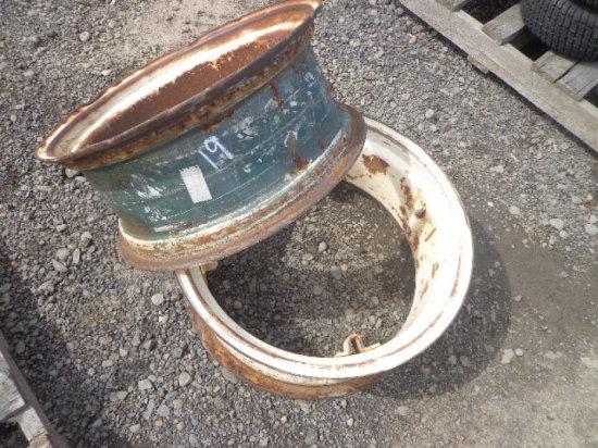 (2) 4 Loop Tractor Rims