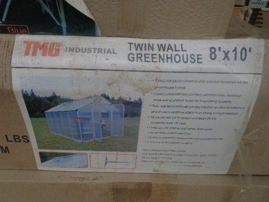 8x10 Alluminum Green House