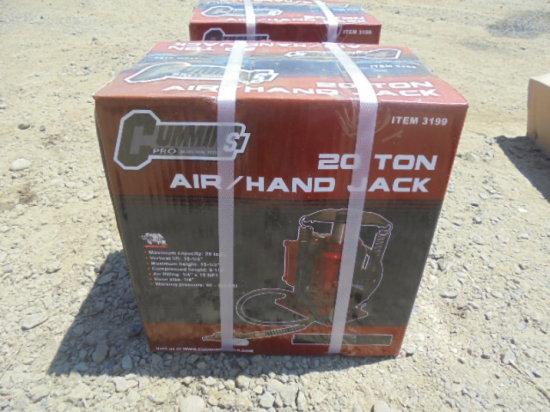 New 2o Ton Air/Hand Jack
