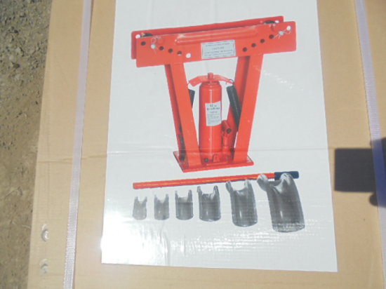 New 12 Ton Hydraulic Pipe Bender
