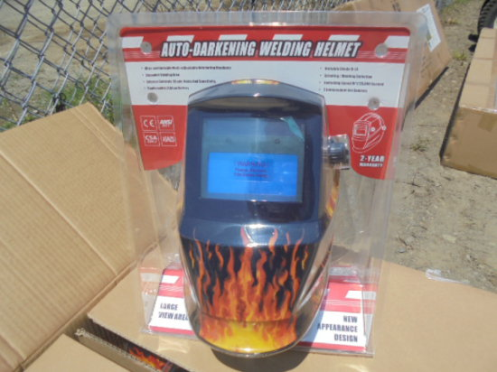 New Solar Welding Helmet, Sold By The Piece X4