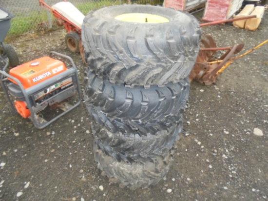 (4) New JD Gator Tires & Rims