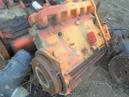 Case - 6 cylinder diesel engine