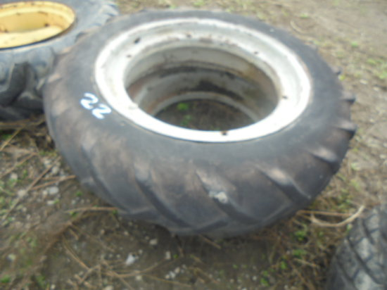 10 - 28 Ford rims & tires