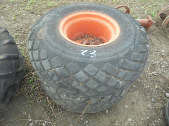 9.6 - 16 - Turf tires and rims