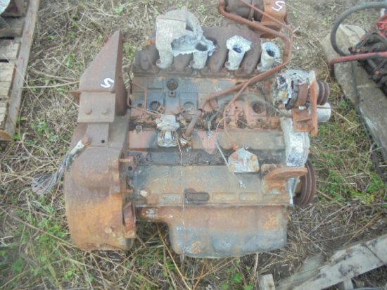 Caterpillar 416 Diesel Engine (Fire Damaged) Perkins