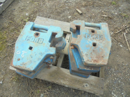 Ford 75LB Suitcase Weights x8