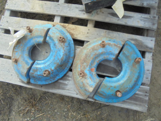 Pair of Ford Split Front Wheel Weights