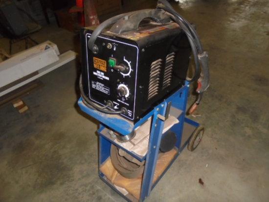 Chicago Electric Mig 180 Wire Welder w/ Cart & Helmet