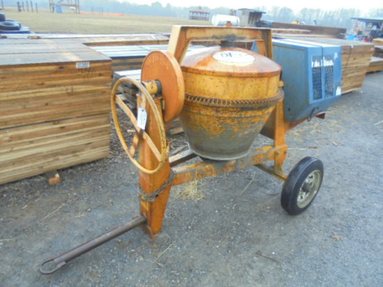 Stone Gas Powered Cement Mixer