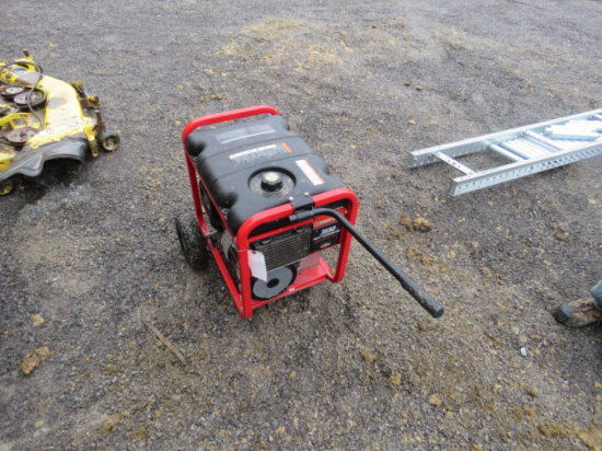 #104 Troybilt 3550 Watt Generator