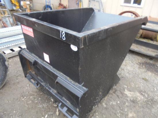 1.5 Yard SSL Trash Hopper, New