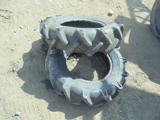 (2) 7X14 Ag Tires