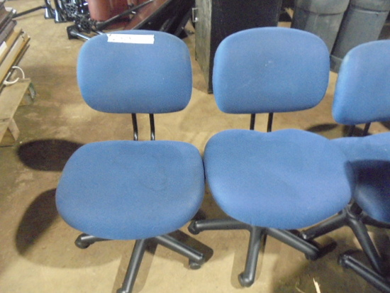 Blue Office Chairs  x23
