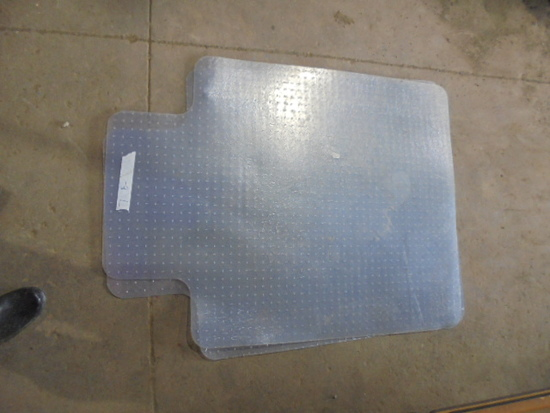 (2) Plastic Floormats
