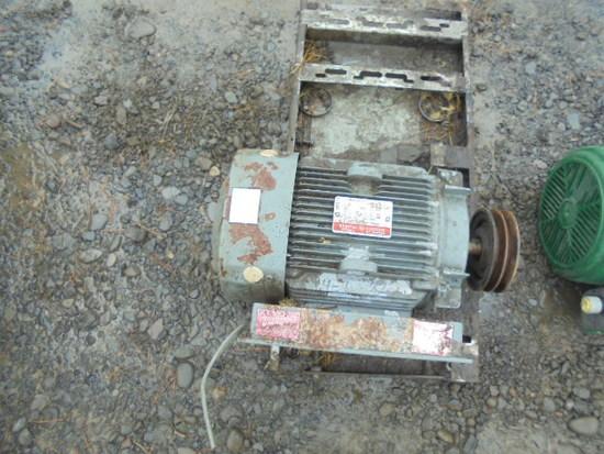 GE 5 HP Electric Motor
