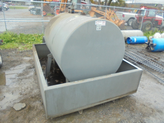 Self Contained Fuel / Oil Tank