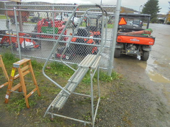 Cotterman Metal Portable Stairs