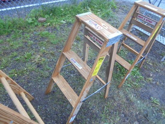 Werner 3' Wood Ladder, New