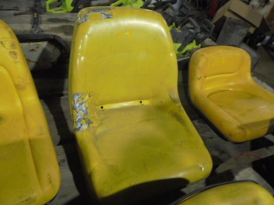 John Deere High Back Seat
