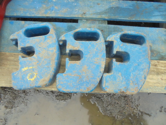 Ford Compact Suitcase Weights X3