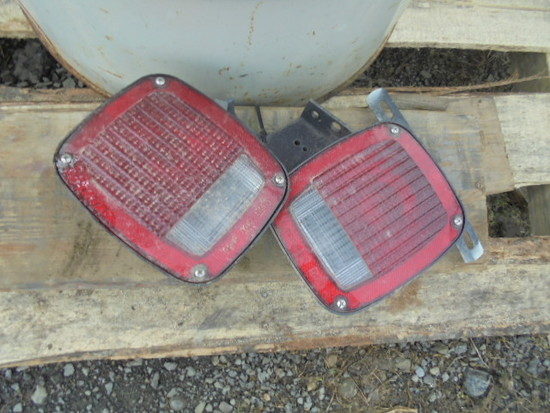 Pair Of Truck Lights