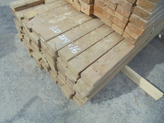 2x4x16 Lumber, 100 Times The Money