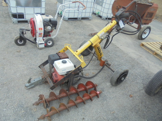 Compac Gas Powered Post Hole Digger