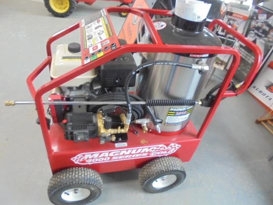 New EZ Kleen Magnum 4000 Gas Powered Hot Pressure Washer