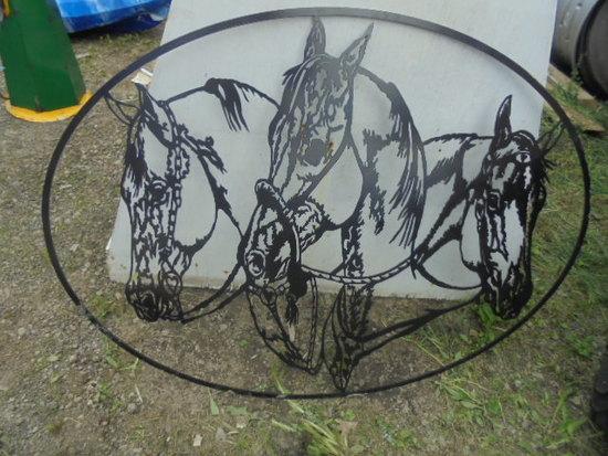 Horse Metal Art