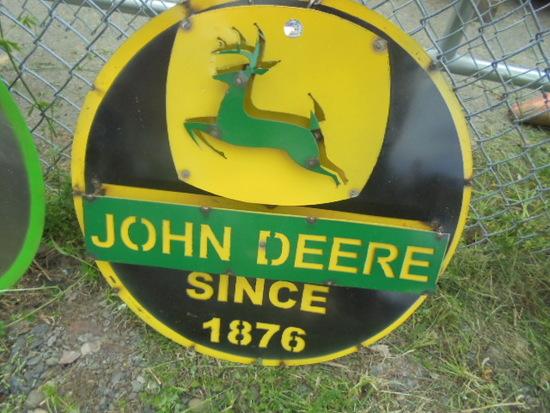 John Deere Since 1876 Sign