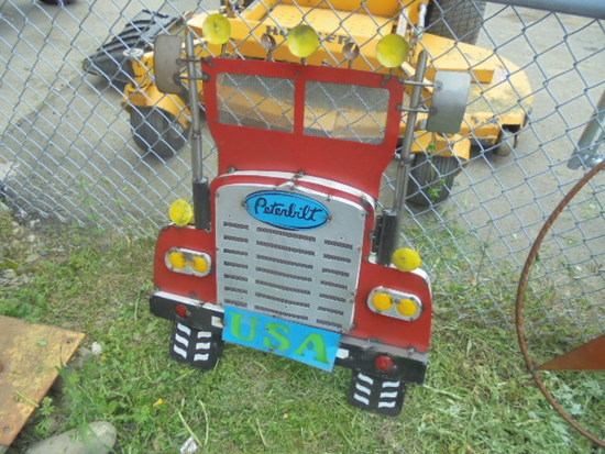 Peterbilt Truck Sign
