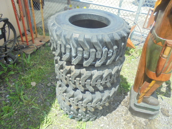 (4) Goodyear 30X11.50-14.5 Tires