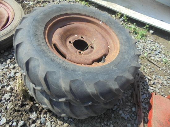 6.70-15 4 Bolt Tires & Rims
