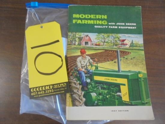 Modern Farming w/ JD Quality Farm Equipment Book, 1957 Edition