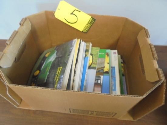 Approx. 20 Soft Cover John Deere Books & Green Magazines