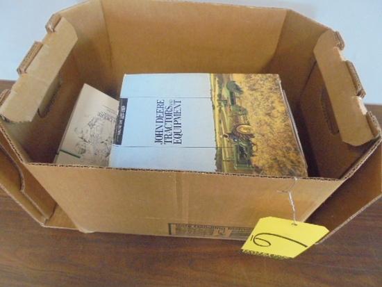 (7) Hardcover Books, John Deere, Farm Tractors, JD Blacksmith Boy