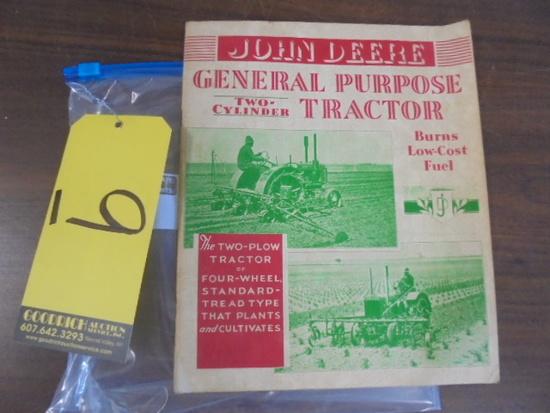 John Deere GP Literature